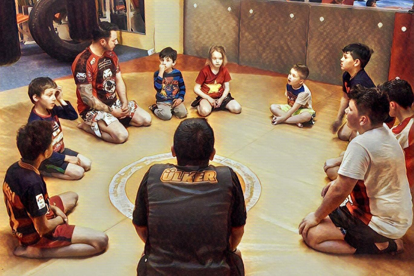 Kids Kickboxen 2 - Lee-Gym