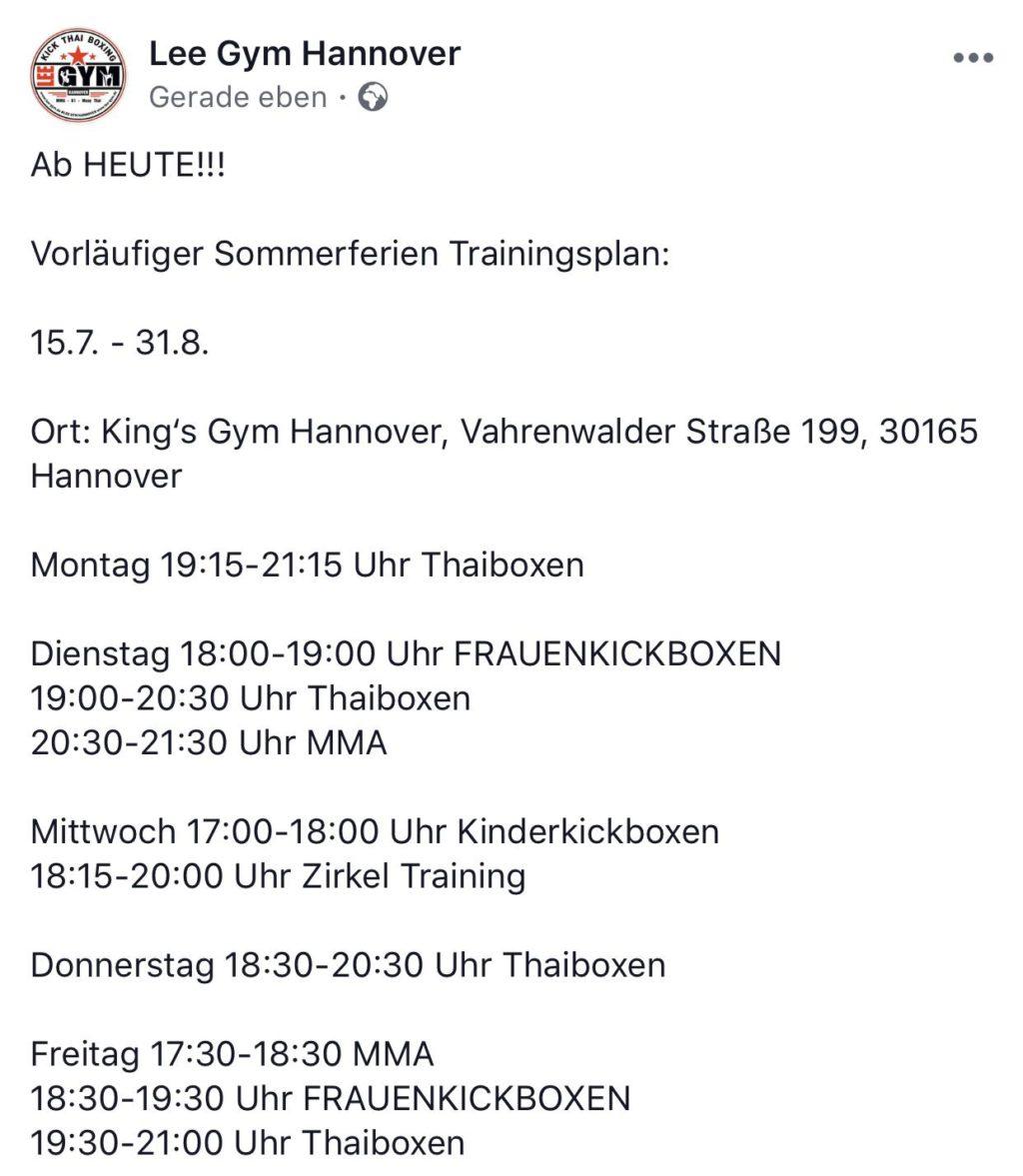 trainingszeiten sommerzeit kings gym IMG 20190715 WA0066  1024x1177 - SOMMERPLAN UMZUG INS IHMEZENTRUM