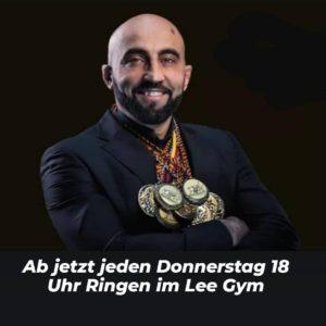 Ringen im Lee Gym ajmal 300x300 - Neu: Jeden Donnertstag 18 Uhr Ringen im LEE GYM