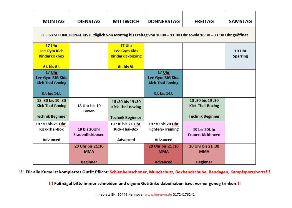 2021 03 25 18 05 34 Trainingszeiten Ihmeplatz 8H mit Kiste fresh Word - Lee-Gym