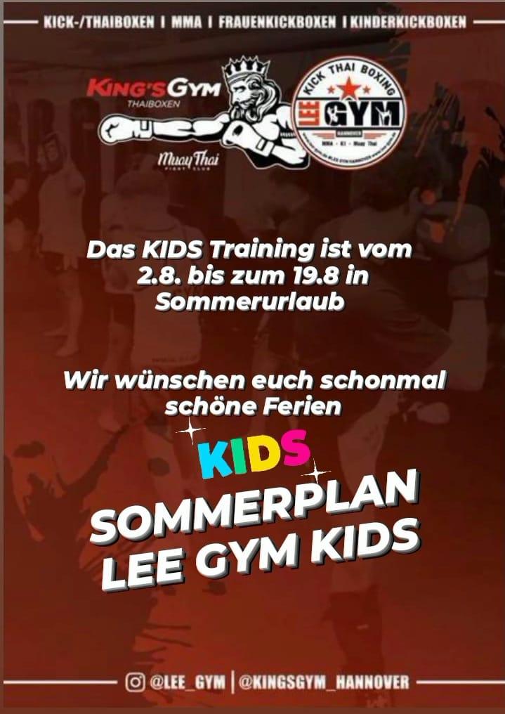 lee gym sommerpause kids neu - Lee-Gym