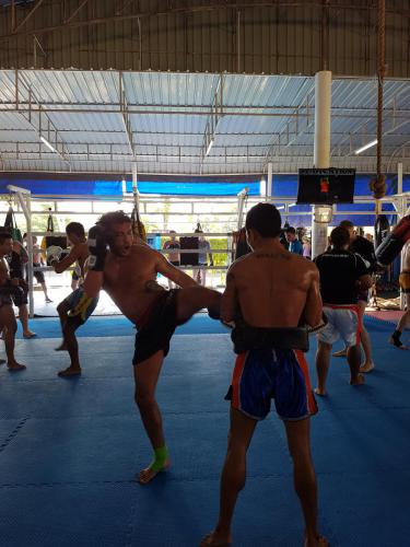 Lee Gym im Phuket Top Team
