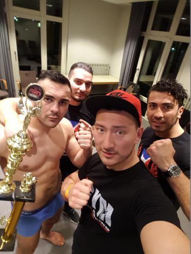 Red Panthers Fight Night Sieger Arian Sadikovic vom Lee Gym