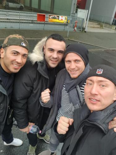 Enriko Kehl mit Team Lee Gym