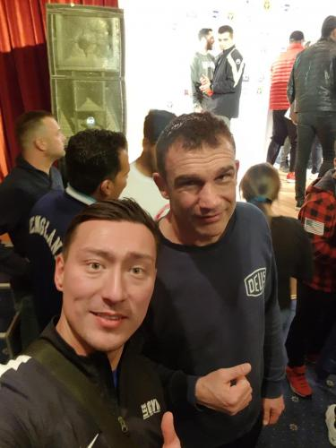 Peter Aerts K1 Champ und Legende mit Lee Gym