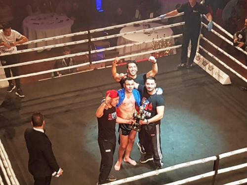A Klasse Fight Arian Sadikovic Sieg
