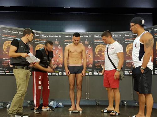 Schweiz , Best of Sparta Fight Gala