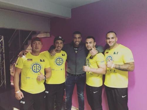 Manuel Char Fraport Arena Mix Fight Gala mit Lee Gym