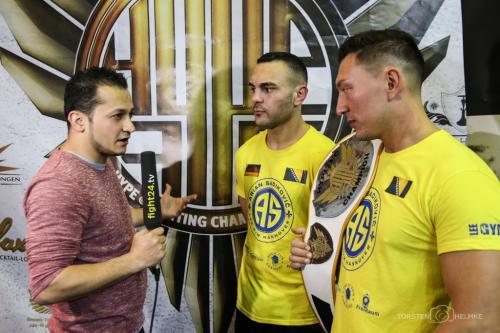 Interview nach dem 4 Mann Tournament Sieg