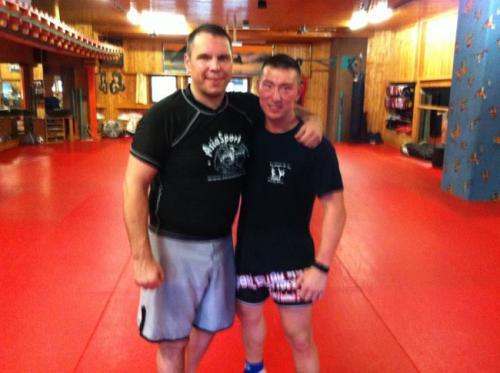 Remco Pardoel UFC Fighter mit Lee Gym